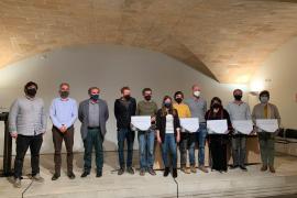 El Consell de Mallorca entrega los premios del concurso de ideas para el refugio de Raixa
