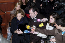 Munar ante el juez: «No se puede tratar a la gente de UM como una banda de criminales»