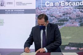 Ábalos firma este viernes en Palma dos protocolos para fomentar la promoción de viviendas de alquiler social