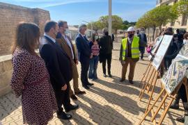 Las obras del Baluard del Príncep estarán listas en verano de 2022 e incluirán una nueva zona arbolada