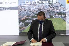 El ministro José Luis Ábalos, el pasado jueves en la firma de uno de los convenios