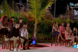 Las reacciones de las parejas de 'La isla de las tentaciones' al final del programa