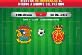 DIRECTO | Fuenlabrada-Real Mallorca