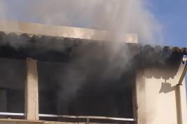 Alarma por un incendio en un centro del IMAS, en El Vivero