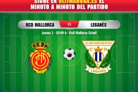 Real Mallorca-Leganés, en directo