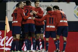 El Osasuna vuelve a ganar en el Reyno dos meses después