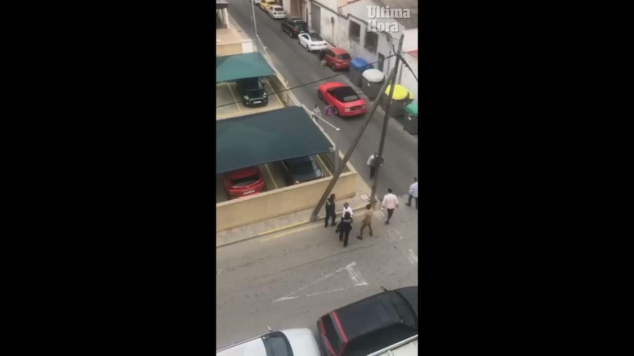 Miembros de un conflictivo clan gitano agreden a dos policías en Cala Rajada