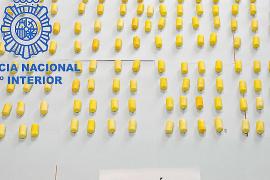 Detenido un hombre en el aeropuerto de Palma que portaba un kilo de cocaína en el estómago
