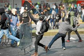 Graves disturbios durante la toma de posesión del nuevo presidente de México