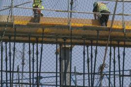 CCOO cifra en 13.000 los parados de la construcción en Baleares