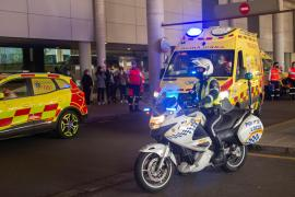Un motorista sufre la amputación de un pie tras ser arrollado por un coche que se ha dado a la fuga en el Arenal