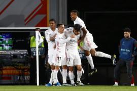 El Madrid se impone al Liverpool en la ida
