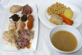cocido madrileño del restaurante Paseo Mallorca 30 en Palma