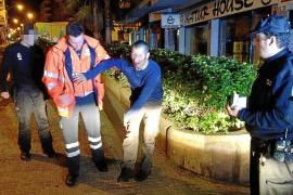 Detenido uno de los acusados de propinar una paliza a un hombre en la calle Industria