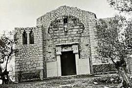 Hallan una imagen inédita del oratorio de Crist Rei de Selva que se hundió hace 60 años
