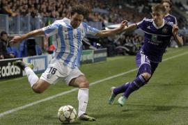 El Málaga deja escapar el triunfo en el minuto 89 (2-2)