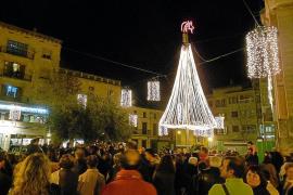 Las luces de Navidad vuelven a enfrentar a los comerciantes de Manacor con el Ajuntament
