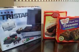 Taste of America kit para brownie