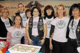 Cena solidaria de Ladies of Harley en Inca