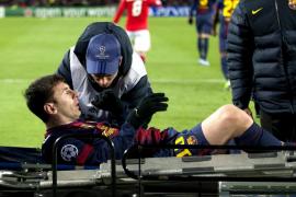 El Benfica congela al Barça y Messi se lesiona en el Camp Nou