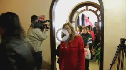 Los trabajadores acusan a la Clínica Bellver de despido tácito