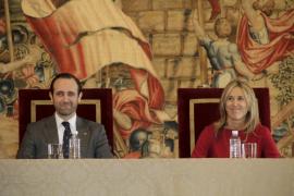 La unidad de España marca los discursos de Bauzá y Palmer en el Día de la Constitución