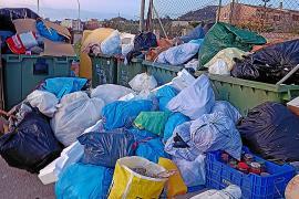 Continúan las negociaciones para poner fin a la huelga de la recogida de residuos en Son Servera
