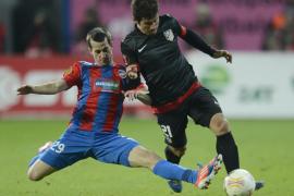 Un gol de estrategia condena al Atlético al segundo puesto
