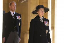 El funeral del Duque de Edimburgo, en imágenes