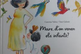 Portada del libro 'Mare, d'on venen els infants?'