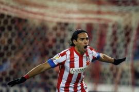 Cinco goles de Falcao fulminan al Deportivo