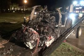 Investigan el accidente de un Tesla «sin nadie al volante» en el que fallecieron dos personas