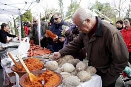 Multitudinario domingo de 'matances' en la tradicional Fira de Sant Tomàs de Sineu