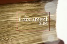 El Arxiu del Regne de Mallorca dedica el 'Documento del mes' a las Germanías
