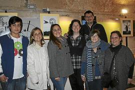 Exposición de fotografías en la sede de la Associació Amics dels Molins