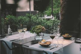 Restaurante Quadrat del Hotel Sant Francesc.