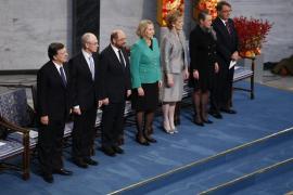 Van Rompuy: «El Nobel rinde homenaje a los europeos que soñaron con la paz»