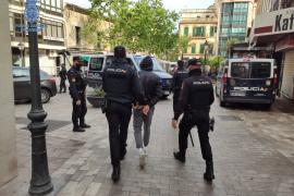 Detenido por robar en Mallorca