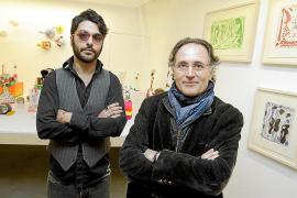 Los 'Lenguajes anexos' de Rafa Forteza y Albert Pinya dialogan en el Taller 6a