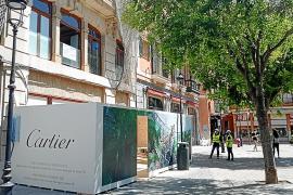 Cartier se muda a la plaza de Cort