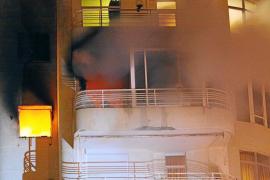 Madrugada de incendios en Palma