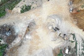 El juez ordena el cierre en Felanitx de una planta de residuos de obra