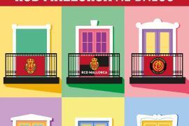 La bandera en el balcón, una iniciativa para animar al Rea Mallorca