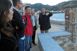 Costas afirma que la arena de la playa del Través sólo se ha «desplazado»