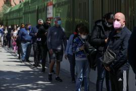 La participación en las elecciones de Madrid es del 28,44 %, a las 13.00 horas