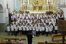 CONCIERTO DE NAVIDAD ORGANIZADO POR EL CORO D'URGELL EN LA IGLESIA DE SANT JOSEP