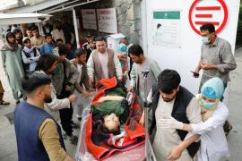 Herida en el atentado de Kabul