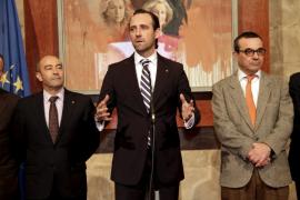 Bauzá fija como objetivos para 2013 el control del déficit y la regeneración de la vida política