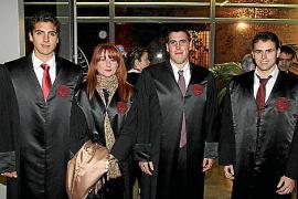 Jura de colegiados en el colegio de Abogados de Balears