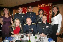 Cena de gala de las patronas de las armas de Infantería y Artillería